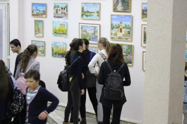 """Выставка картин """"Родной район!"""""""